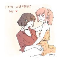 Happy Valentine's Day by iiping