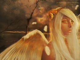 The Last Angel by Le-Regard-des-Elfes