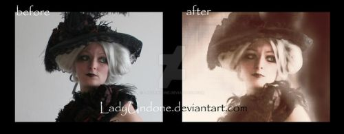 Quiet Herts - before+after by LadyUndone