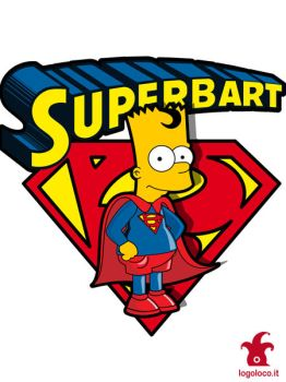 Superbart: the Simpsons superheroes by logolocoadv