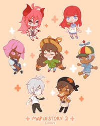 MapleStory 2 Squad by Boosify