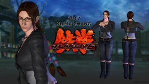 Julia Chang - Tekken 6 | Costume 2 - XPS Download by Pedro-Croft