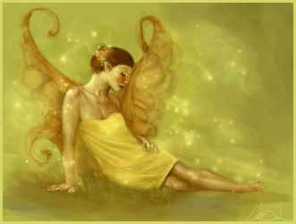 Green Faery by howlinghorse