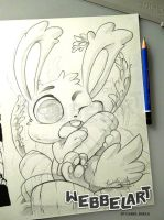 Carrot Bunny by tikopets