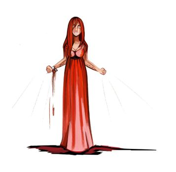 For she is ...Carrie White by didouchafik
