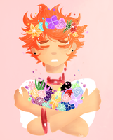 .:AT:. Flower Boi (+Speedpaint) by Redku