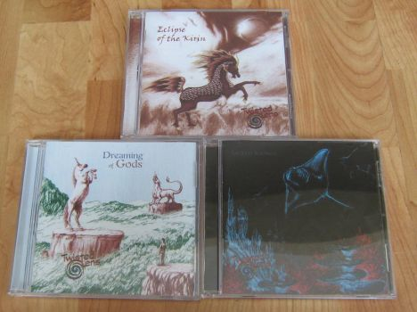 CD Album Artwork Collection by Wolf-Daughter