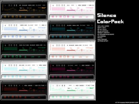Silence 1.0 Pack by mercy by WinampSkinners