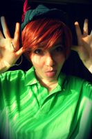 Peter pan cosplay by Childishx