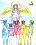 power rangers : rainbow guardians by puticron