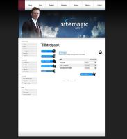 Webdesign - SiteMagic CMS by Noergaard