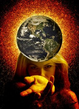 Earth in Hand by scotepi