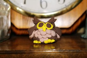 [ Crafts ] Model Magic Owl by Dreamsverse