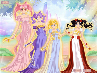 Daughters of Serenity and Endymion by HeartStorm4ever