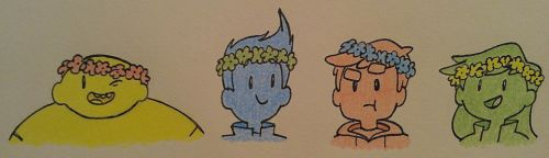 bravest flower crowns by aripng