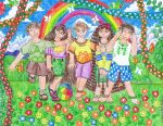 Children And The Rainbow by Meztli72