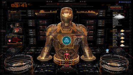 Iron Man OS 1.3.1 by oldcrow10