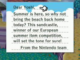 Nintendo team Summer Letter by theyoshifanboy