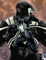 Agent Venom Space Knight by DStevensArt
