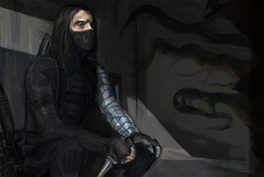 Winter soldier by Vizen