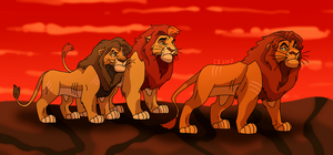 fallen princes of simba's rein by hateful-minds