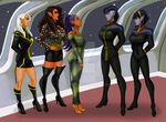 Introductions! Romulans Arrive On Delta Aquilae! by StalinDC