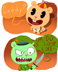 Happy Tree Friends: Do I look Like-- by ArtsyGumi