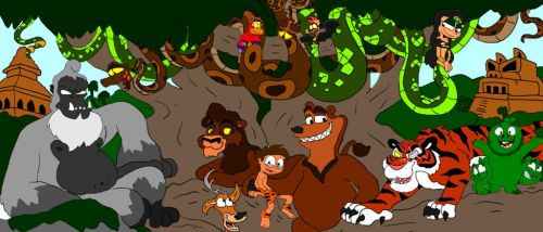 Jungle Boy: It's a Jungle Out There by SammyD-Productions