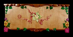 Flowered Hope Chest by seeartnow