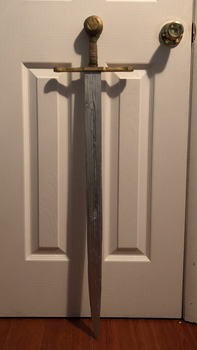 Wooden Arming Sword Part 2 by louisloure