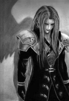 Sephiroth - FF VII by Eternal-Axis