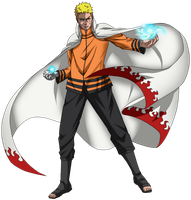 Naruto Uzumaki - 7th Hokage by esteban-93