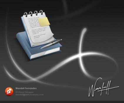 Notes Icon by dellustrations
