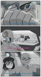CarRace!undertale AU ::read description:: by HikariCotta