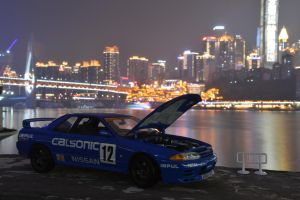 Godzilla of JTCC 4 by nismoz