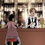 Frank at the Bar by Alex-Claw