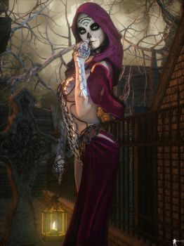 Santa Muerte: I have a secret to share by LaMuserie