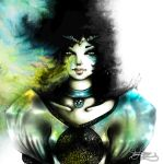 the green woman. by danydiniz
