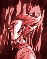 Don't Starve - A cry of despair by MorriFredoom