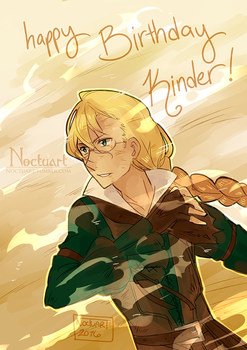 Happy Birthday Kinder 2016!! by Noctuart