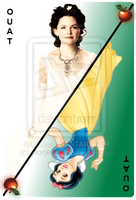 OUAT Card Snow White by jeorje90