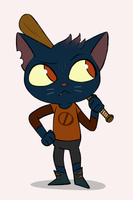Mae (Night in the Woods) by Toodles3702