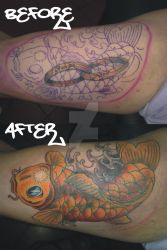 cover koi by TATTOOQAC