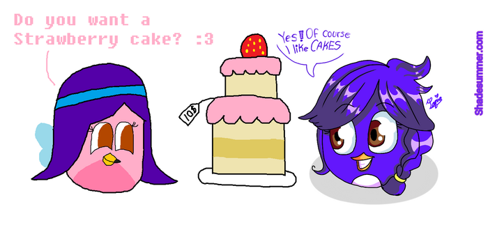 (Collab) The Cake by Shadesummer