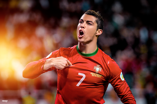 Cristiano Ronaldo Retouch by workoutf