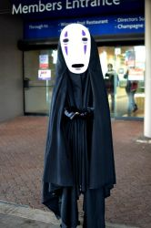 No Face from Spirited Away by callianis