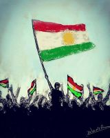 kurdistan's freedom by Delawer-Omar