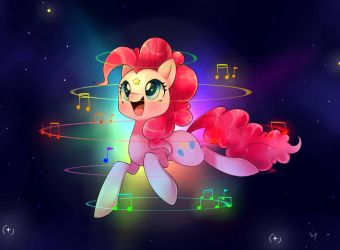 Pinkie Pie's song by PegaSisters82