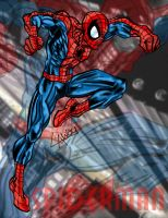 Ultimate Spiderman by AngelCrusher