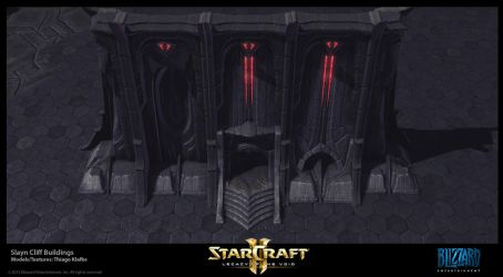 Starcraft II LotV -  Slayn Cliffs by thiagoklafke